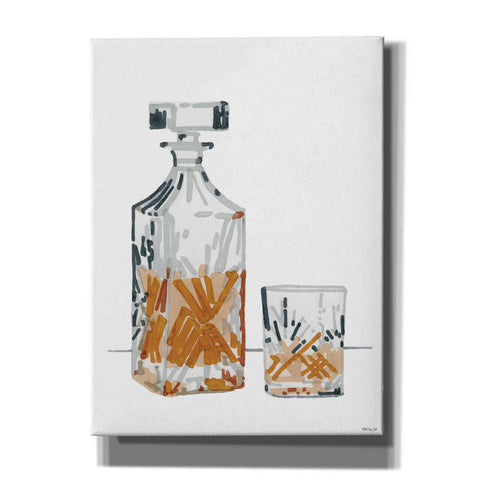 Image of 'Vintage Decanter 2' by Stellar Design Studio, Canvas Wall Art
