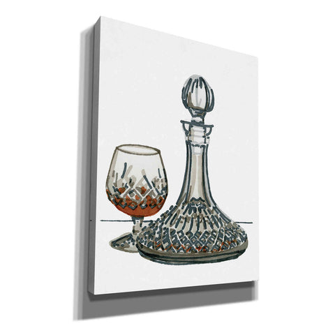 Image of 'Vintage Decanter 1' by Stellar Design Studio, Canvas Wall Art