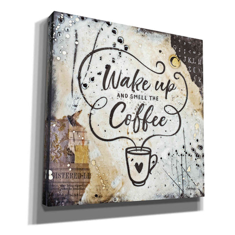 'Coffee Love 3' by Britt Hallowell, Canvas Wall Art