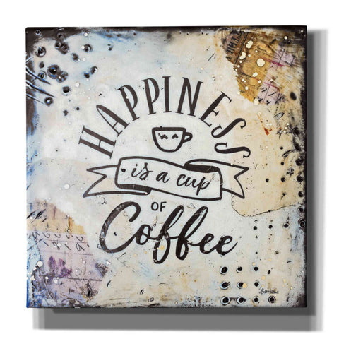 'Coffee Love 1' by Britt Hallowell, Canvas Wall Art