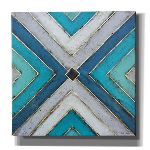 Image of 'Geometric Common Ground' by Britt Hallowell, Canvas Wall Art