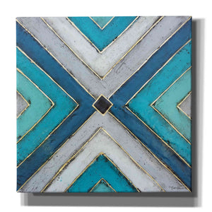'Geometric Common Ground' by Britt Hallowell, Canvas Wall Art