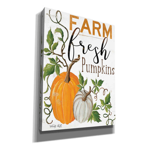 Image of 'Farm Fresh Pumpkins' by Cindy Jacobs, Canvas Wall Art