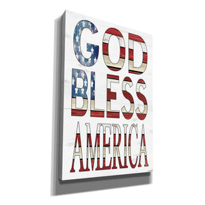 'God Bless America' by Cindy Jacobs, Canvas Wall Art