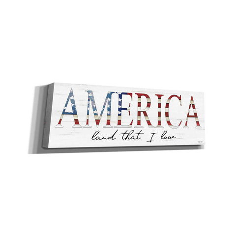 'America Land That I Love' by Cindy Jacobs, Canvas Wall Art