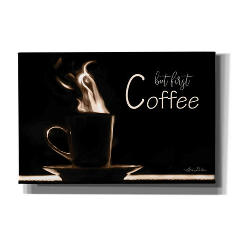 Image of 'But First Coffee' by Lori Deiter, Canvas Wall Art