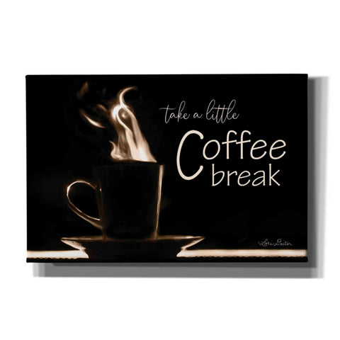 Image of 'Take a Little Coffee Break' by Lori Deiter, Canvas Wall Art