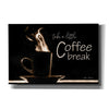 'Take a Little Coffee Break' by Lori Deiter, Canvas Wall Art