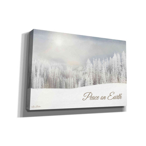 Image of 'Lava Mountain Snow Storm' by Lori Deiter, Canvas Wall Art