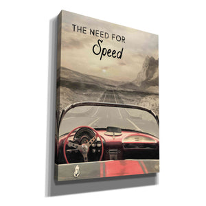 'The Need for Speed' by Lori Deiter, Canvas Wall Art