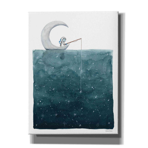 'Fishing For Stars' by Rachel Nieman, Canvas Wall Art