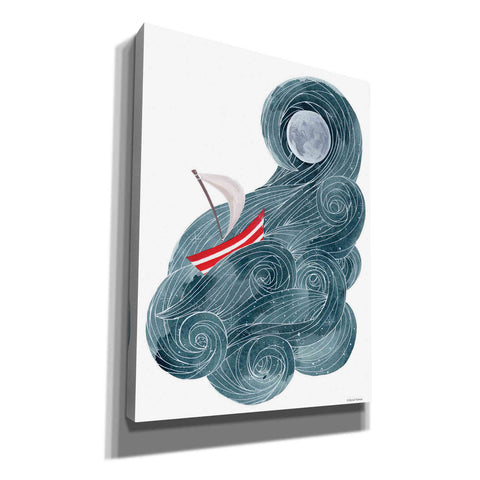 Image of 'Sailing in Space' by Rachel Nieman, Canvas Wall Art