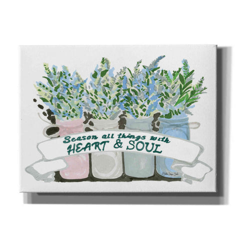 'Heart & Soul' by Stellar Design Studio, Canvas Wall Art