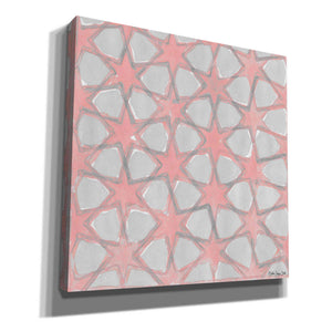 'Pink and Gray Pattern 5' by Stellar Design Studio, Canvas Wall Art