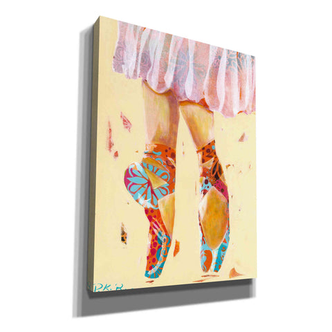 Image of 'Ballet Slippers' by Pamela Beer, Canvas Wall Art