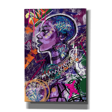 'Black is Love' by Justin Copeland, Canvas Wall Art