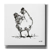 'Farmhouse Chicken' by House Fenway, Canvas Wall Art