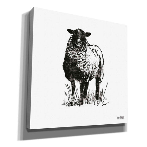 Image of 'Farmhouse Sheep' by House Fenway, Canvas Wall Art