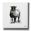 'Farmhouse Sheep' by House Fenway, Canvas Wall Art