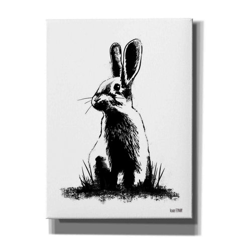 'Farmhouse Rabbit' by House Fenway, Canvas Wall Art