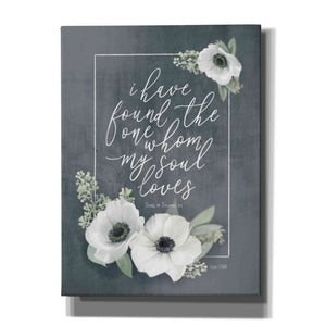 'My Soul Loves' by House Fenway, Canvas Wall Art