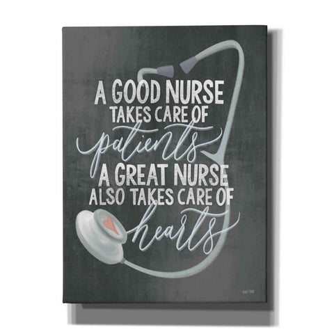'A Nurse's Heart' by House Fenway, Canvas Wall Art