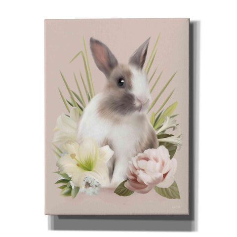Image of 'Easter Bunny Floral' by House Fenway, Canvas Wall Art