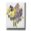 'Lilacs and Daffodils' by House Fenway, Canvas Wall Art