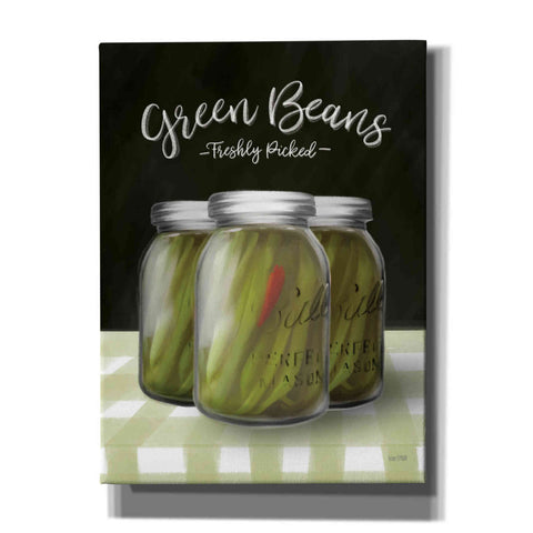 Image of 'Farm Fresh Green Beans' by House Fenway, Canvas Wall Art