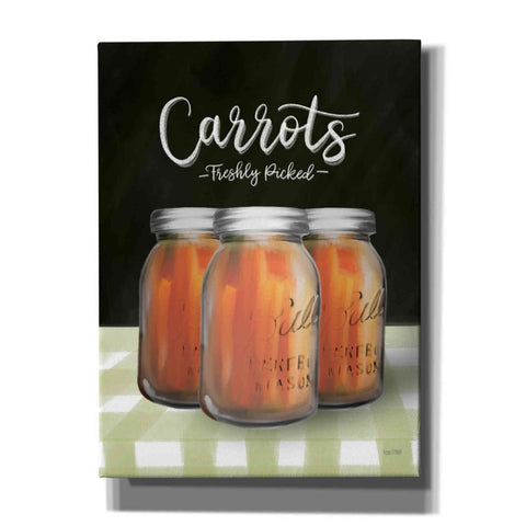 'Farm Fresh Carrots' by House Fenway, Canvas Wall Art