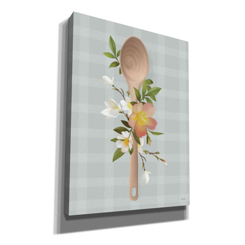 'Kitchen Made with Love Spoon' by House Fenway, Canvas Wall Art