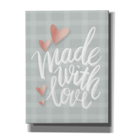 Image of 'Made with Love' by House Fenway, Canvas Wall Art
