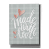 'Made with Love' by House Fenway, Canvas Wall Art