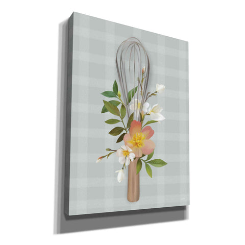 Image of 'Kitchen Made with Love Whisk' by House Fenway, Canvas Wall Art