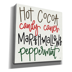 'Christmas Candy' by Fearfully Made Creations, Canvas Wall Art