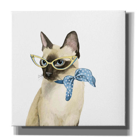 Image of 'Cool Cat II' by Grace Popp, Canvas Wall Art