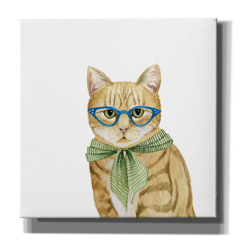'Cool Cat IV' by Grace Popp, Canvas Wall Art