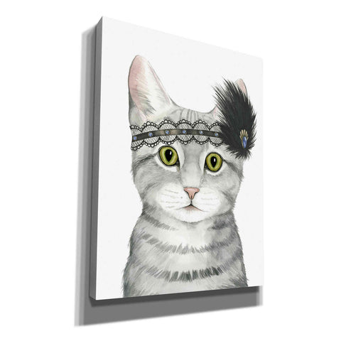 Image of 'Downton Cat III' by Grace Popp, Canvas Wall Art