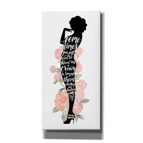 'Iconic Woman I' by Grace Popp, Canvas Wall Art