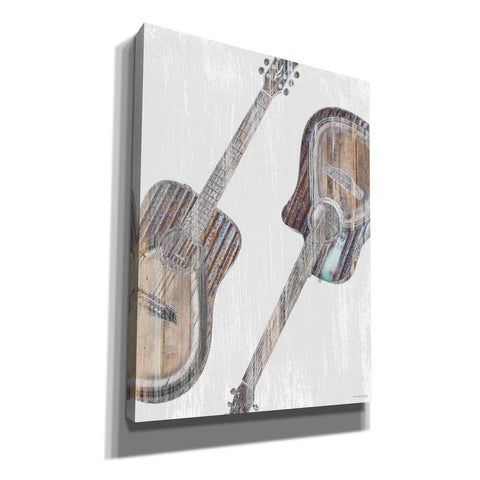 'Address Me a Chord' by Front Porch Pickins, Canvas Wall Art