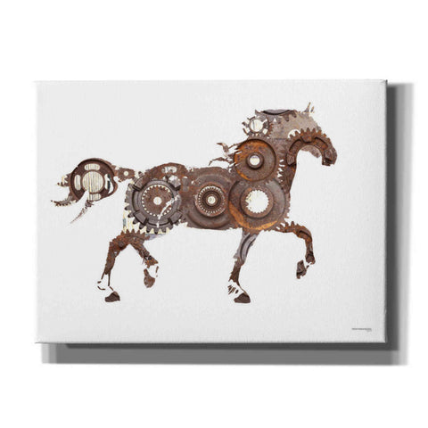'Rusty Reins' by Front Porch Pickins, Canvas Wall Art