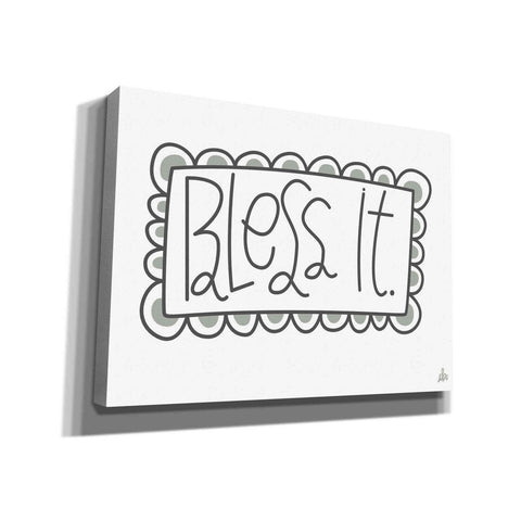 'Bless It' by Erin Barrett, Canvas Wall Art