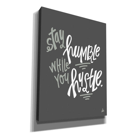 'Stay Humble' by Erin Barrett, Canvas Wall Art