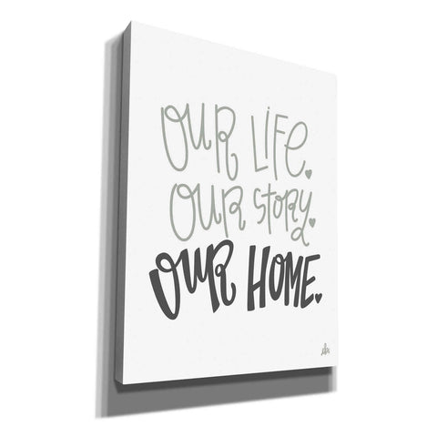 'Our Home' by Erin Barrett, Canvas Wall Art