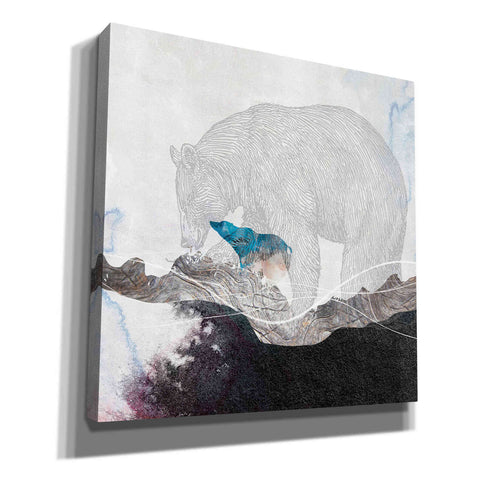 Image of 'Bear 2' by Louis Duncan-He, Canvas Wall Art