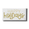 'Happy Holidays' by Jaxn Blvd, Canvas Wall Art
