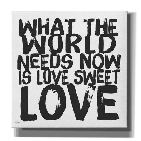 'Love Sweet Love' by Jaxn Blvd, Canvas Wall Art