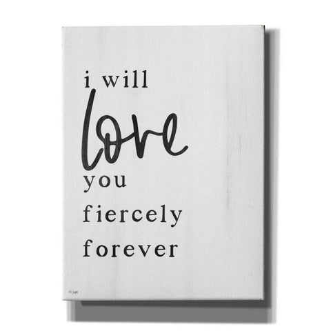 'Love You Fiercely Forever' by Jaxn Blvd, Canvas Wall Art