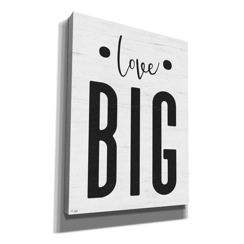 Image of 'Love Big' by Jaxn Blvd, Canvas Wall Art