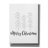 'Merry Christmas' by Jaxn Blvd, Canvas Wall Art
